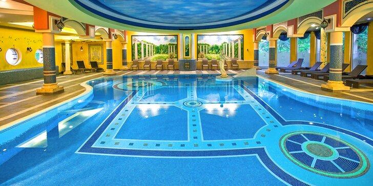 Hotel ako z Tisíc a jednej noci: neobmedzený wellness, polpenzia a výlety