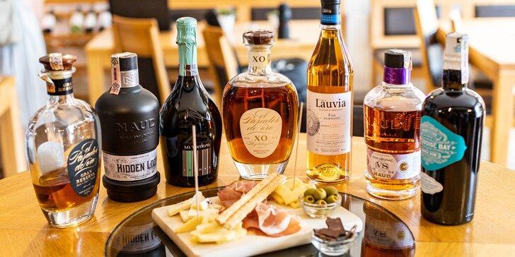 Letná degustácia ušľachtilých destilátov so someliérom WINE EXPERT