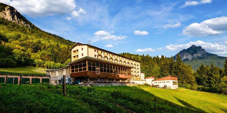 Letný pobyt v Hoteli Boboty*** s úžasnou panorámou Vrátnej doliny v NP Malá Fatra s 50% zľavou na lanovku na Chleb