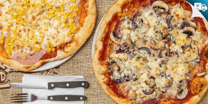 Pizza a pizza štangle podľa výberu – aj na donášku