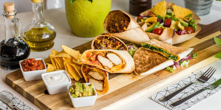 Vegetariánske aj mäsové špeciality z Mexika