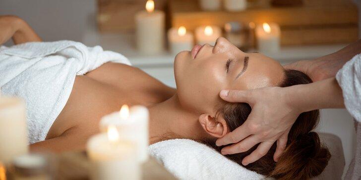 Pleťové ošetrenia a masáže tváre, hlavy a dekoltu