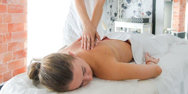 Masáže, lymfatická kúra či hrejivá kamenná terapia