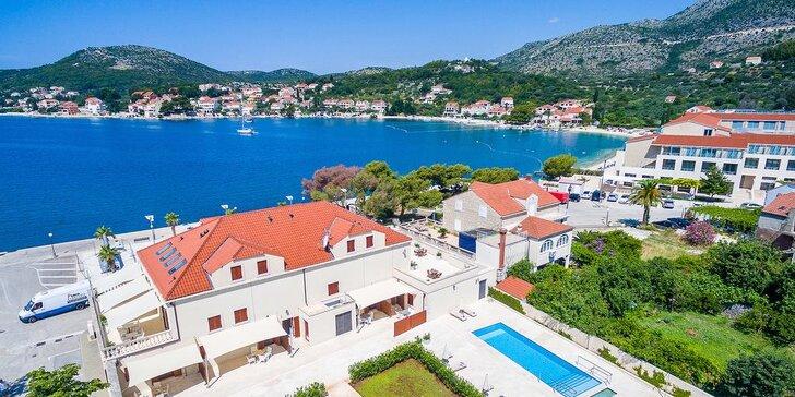 Letný oddych po chorvátsky: ubytovanie v blízkosti pláže v pokojnej destinácii Slano