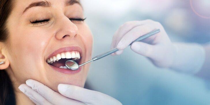 Kompletná dentálna hygiena s pieskovaním a fluoridáciou