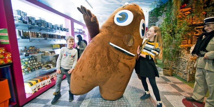 Vstup do Múzea čokolády Chocotopia pre deti, študentov i dospelých