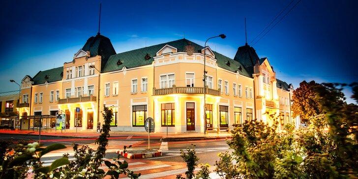 Výnimočný wellness pobyt s polpenziou v historickom hoteli Lev