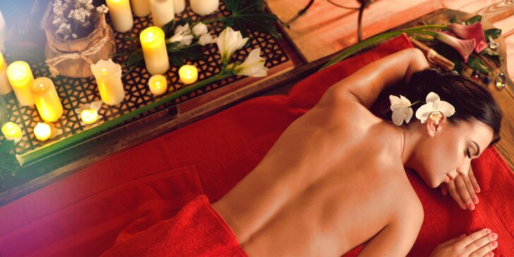 Celotelové masáže pre rozprúdenie životnej energie - aj pre páry