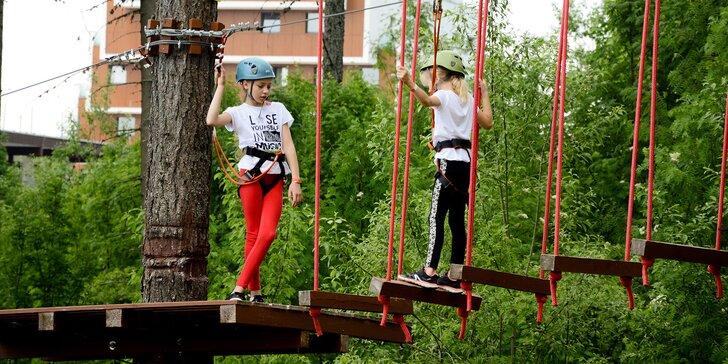 Veveričí lanový park na Štrbskom Plese - zážitok pre celú rodinu