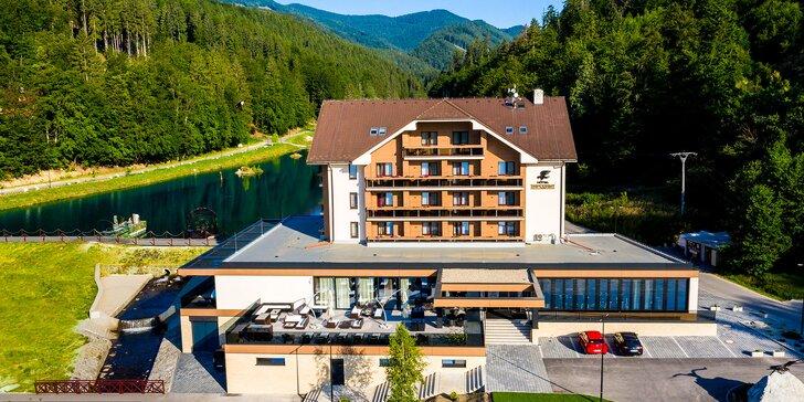 Luxusný, novozrekonštruovaný Hotel Impozant**** so špičkovým wellness, letnými animáciami a športami vo Valčianskej doline