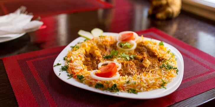 Chicken Curry s Basmati ryžou v centre Košíc - indickí kuchári aj obsluha