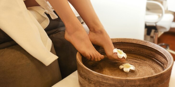 Klasická mokrá alebo wellness pedikúra