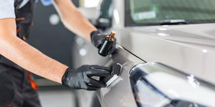 Aplikácia nano keramickej ochrany na lak vozidla