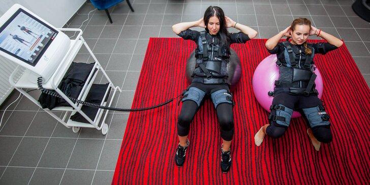 Jednorázový vstup či permanentka na cvičenie EMS pre 1 či 2 osoby