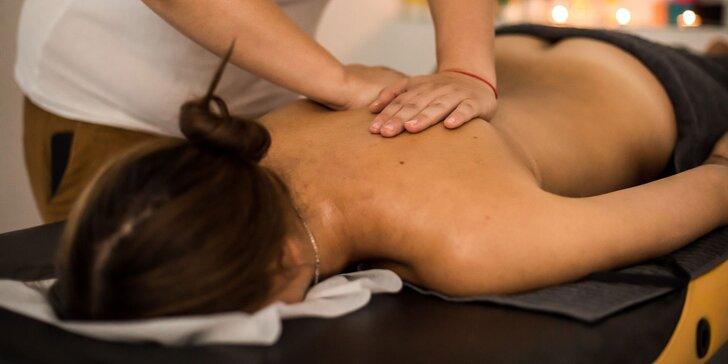 Masáže od skúsenej fyzioterapeutky na uvoľnenie bolesti