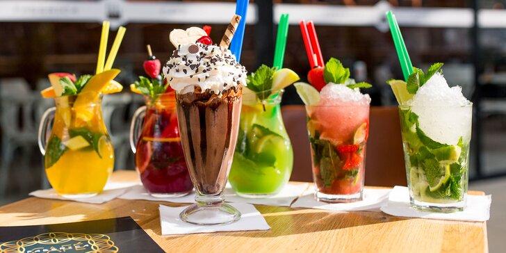 Osviežujúce letné drinky – americký shake, domáca limonáda či virgin mojito