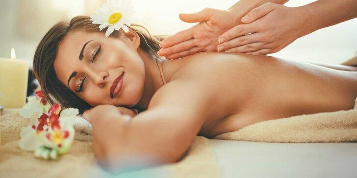 Oddajte sa voňavým olejovým masážam v salóne ALSTER