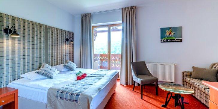 Pobyt v hoteli Batory*** v poľských Pieninách v atraktívnom mestečku Szczawnica