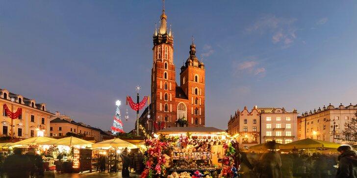 2 dni v adventnom Krakove a jedinečnej soľnej bani Wieliczka