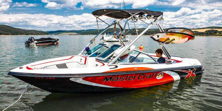 Adrenalínová či vyhliadková jazda motorovým člnom na Domaši