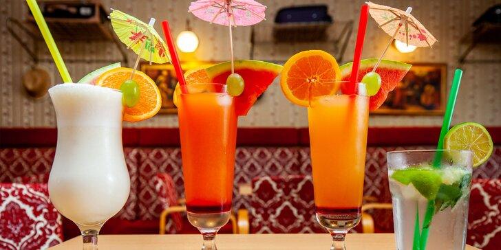 Osviežujúce nealko koktejly v Café Kupé