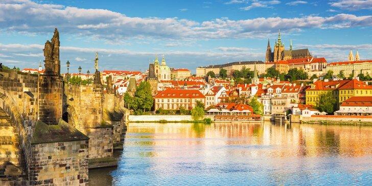 Pobyt v Prahe neďaleko centra v 4* hoteli: raňajky, vstup do bazéna i sauny