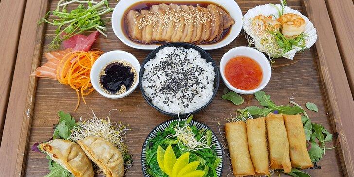 Letné japonské degustačné menu pre 2 osoby v SUSHIHANIL