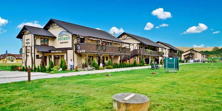 Pobyt v moderných apartmánoch Hilson v Jasnej pre páry aj rodiny so vstupom do wellness a 50 % zľavou do aquaparkov Tatralandia a Bešeňová