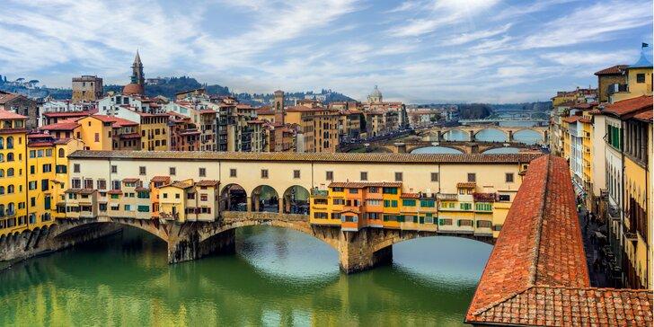 Pisa, Lucca, Florencia a ďalšie perly Toskánska