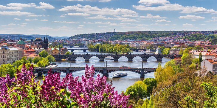 Romantika v pražskom penzióne s raňajkami a možnosťou wellnessu