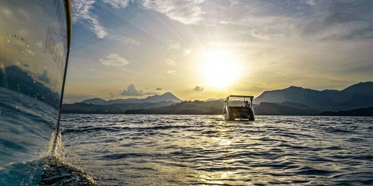 Ekologická súkromná plavba katamaranom na solárny pohon po Liptovskej Mare