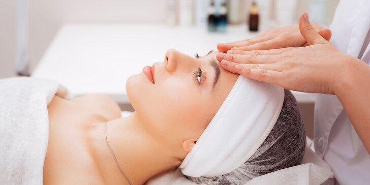 Hĺbkové čistenie pleti či relaxačná masáž tváre v salóne Timea