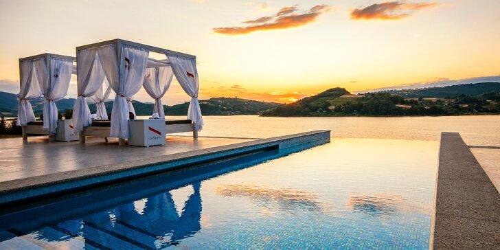 Výnimočný pobyt očarujúci všetky zmysly hostí - luxus, famózna gastronómia aj celoročný INFINITY POOL