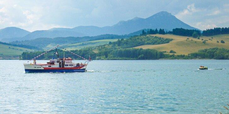 Liptovská Mara: Plavba loďou, prenájom člna alebo vodného bicykla