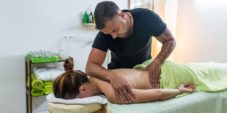 Uvoľňujúce masáže – bankovanie, mäkké techniky, havajská masáž