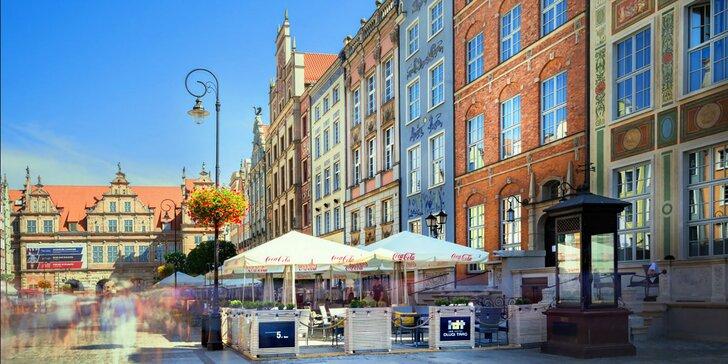 Pobyt v srdci Gdaňska: bufetové raňajky a 10% zľava do reštaurácie aj spa