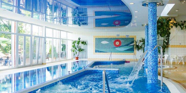 Hotel 300 m od Balatonu: neobmedzený wellness, polpenzia a kredit na masáže