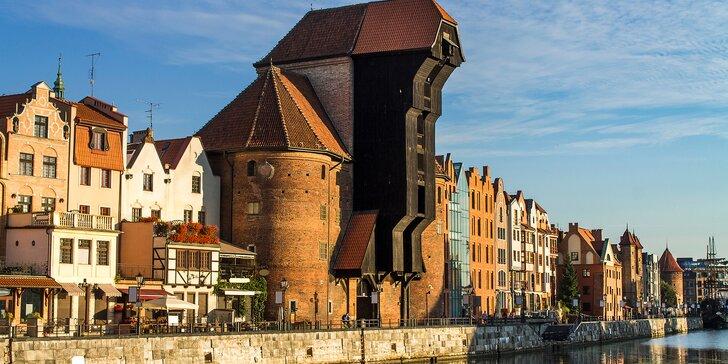 Apartmány na brehu rieky: rodinný pobyt v Gdaňsku s raňajkami a wellness