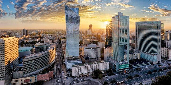 Návšteva hlavného mesta Poľska: pobyt v modernom apartmáne pre 2–4 osoby
