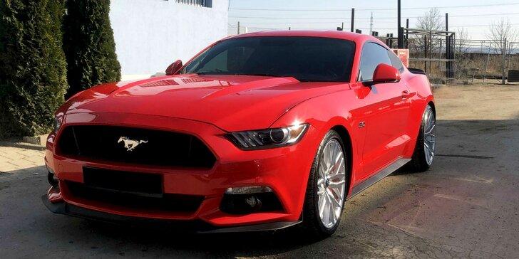 Zaži jazdu snov vo Ford Mustang 5.0 GT MM Racing