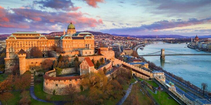 Odpočinok v Maďarsku: Budapešť až na 8 dní s raňajkami a neobmedzeným wellness