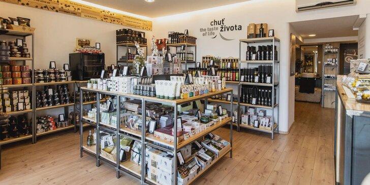 La Chinata: kozmetika s olivovým olejom, delikatesy a darčeky