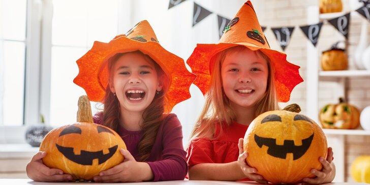 Zábavný detský tábor Kormorán v znamení Halloweenu