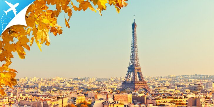 4-dňový letecký zájazd do očarujúceho Paríža: obojsmerná letenka a raňajky
