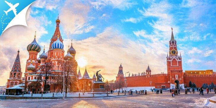 4-dňový letecký zájazd do Moskvy s bohatým programom