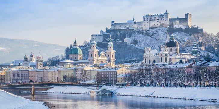 Adventný Salzburg s behom čertov a návštevou Hallstattu