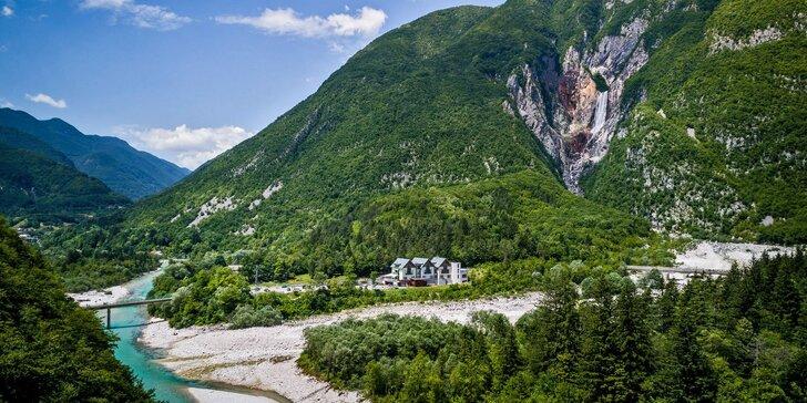 Aktívna dovolenka v Slovinsku pre pár, rodinu či celú partiu