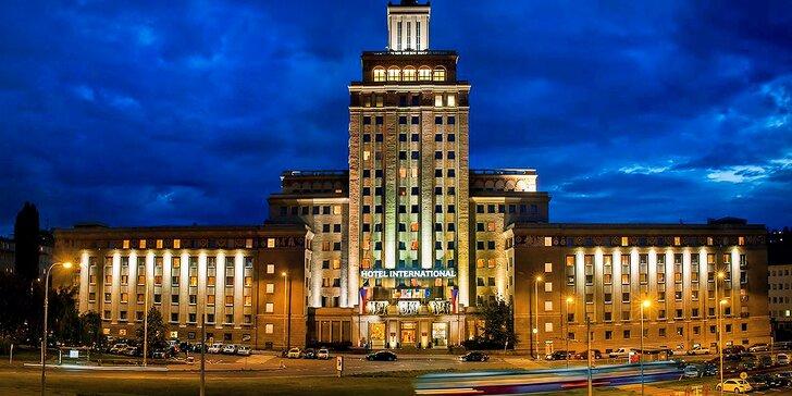 Legendárny hotel International Praha, vynikajúca poloha a jedinečné ubytovanie!