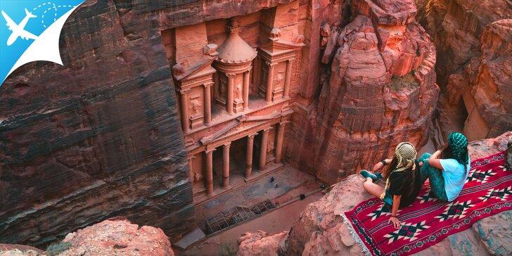 Letecký zájazd za legendárnym Jordánskym kráľovstvom a bájnym mestom Petra