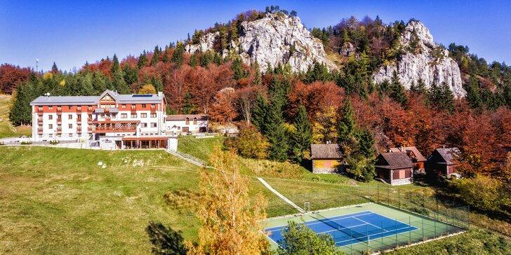 Krásne horské prostredie Veľkej Fatry s wellness, chutnou polpenziou a športami v Hoteli Malina*** na Malinô Brdo